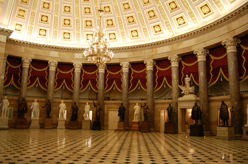 The National Statuary Hall In Washington DC Credit Greg Palmer Flickr